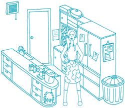 奥さまのお悩み キッチン廻り収納篇